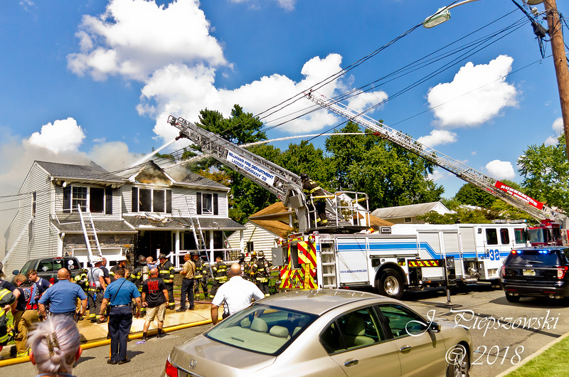 9-5-2018 - (Camden County) - BELLMAWR - 323 3rd Ave. - All Hands Dwelling w/Special Calls