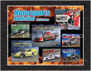 Motorsports Addiction 2017 Calendar