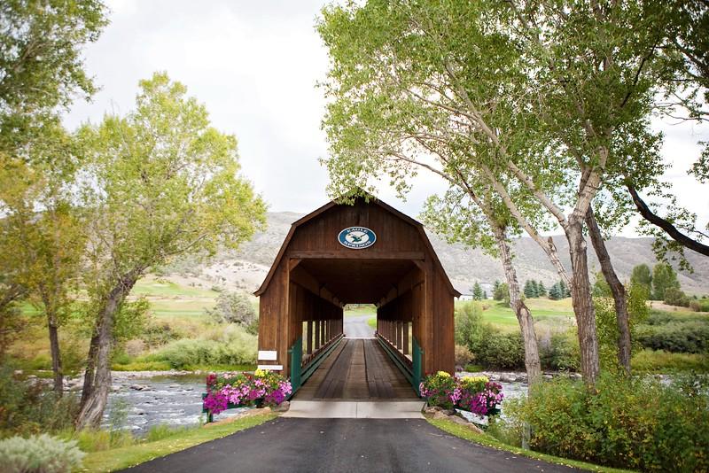 Eagle Springs covered bridge