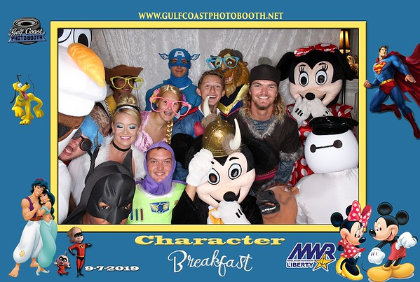 MWR Character Breakfast 2019