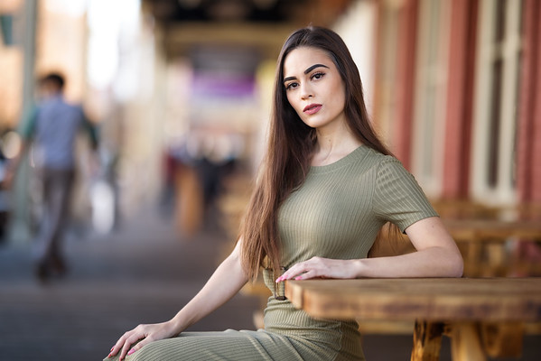 Aria Portrait Session in Old Sacramento