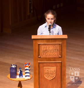 TASIS Middle School 2019 Farewell Assembly