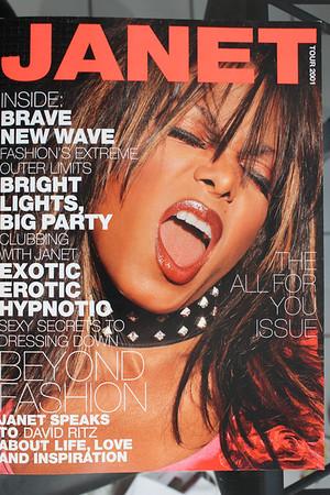 20010728 Janet Jackson: All for You Tour (Program)