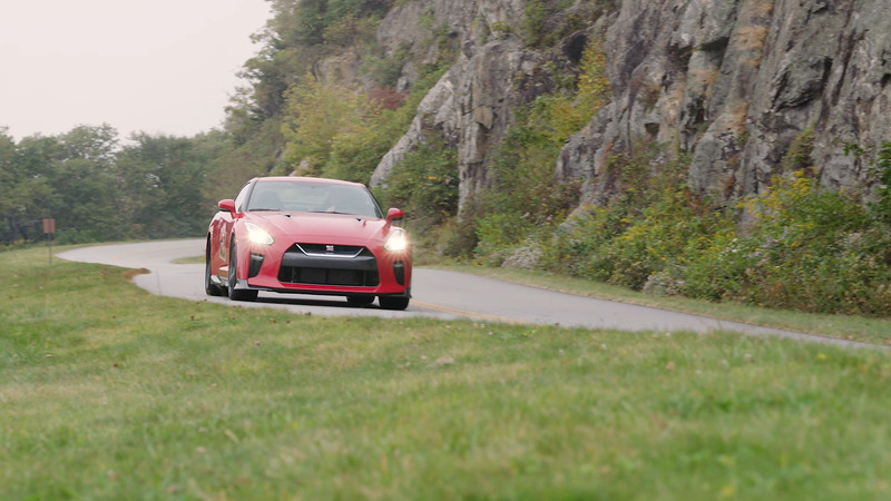 2017 Nissan GT-R Track Edition Driving Reel