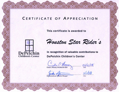 DePelchin Volunteer Appreciation Event