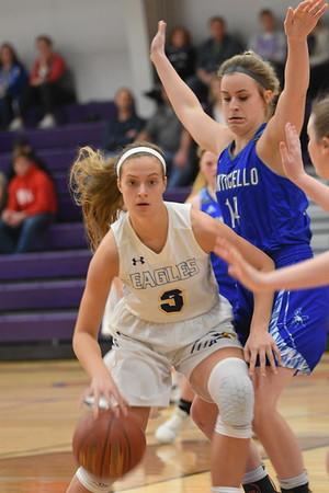 Monticello @ Barneveld Girls Basketball 2-4-20