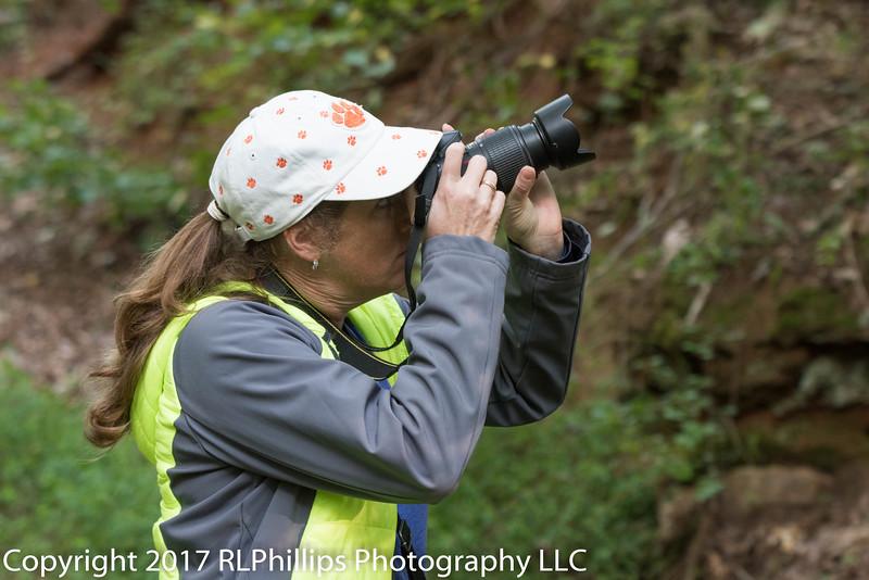 Fellow bird photographer