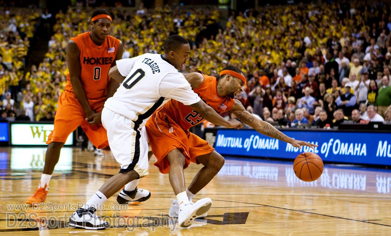 Wake Forest Deacons vs Va Tech Hokies Men's Basketball
