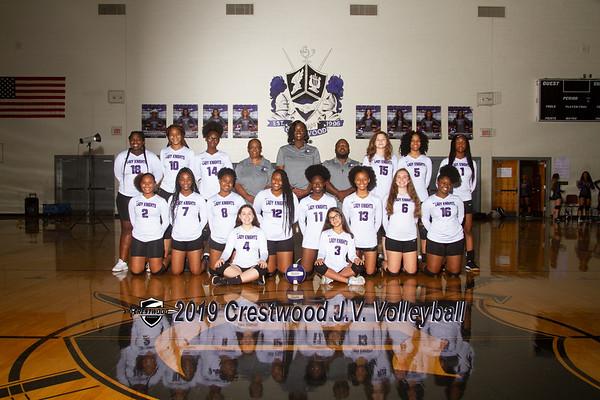 2019 JV Volleyball