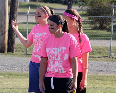 Powder Puff Pink Out Game - Photos by Lee Smith