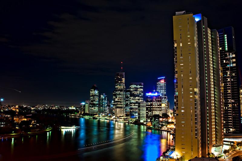 Brisbane River Dusk