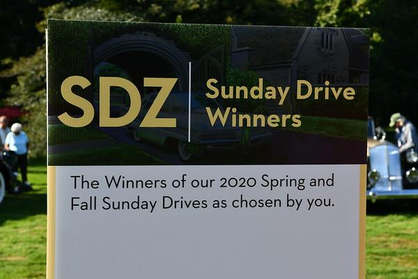 Sunday Drive Winners