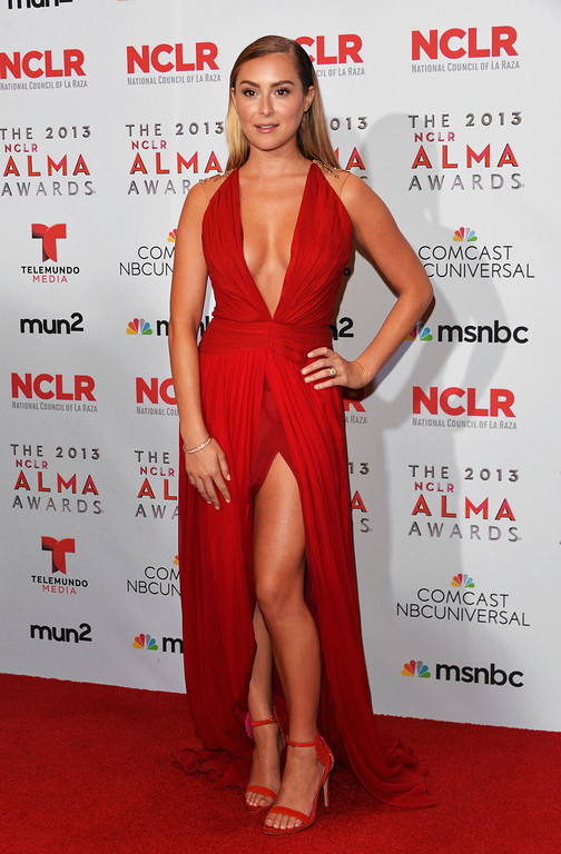 . PASADENA, CA - SEPTEMBER 27:  Actress Alexa Vega attends the Winner\'s Walk during the 2013 NCLR ALMA Awards at Pasadena Civic Auditorium on September 27, 2013 in Pasadena, California.  (Photo by Alberto E. Rodriguez/Getty Images for NCLR)