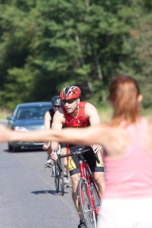 Willow Creek Triathlon 2009: Biking