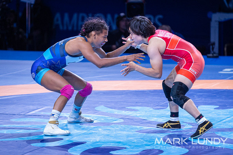 1st Place Match: Jacarra Gwenisha Winchester (United States) over Nanami Irie (Japan)  •  Dec 5-3 - 2019 World Championships