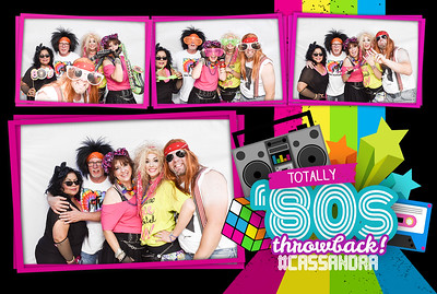 2018.07.14 - Cassandra's 80's Themed Birthday Party
