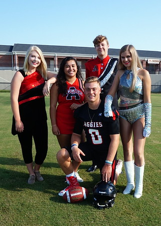 Albertville Football Picture Day 2016
