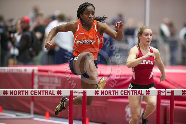 Wheaton College Indoor Track at North Central Cardinal Classic Meet, February 17, 2017