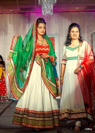 ViBha's Bridal Fashion Show @ Wedding Bells Event 2013!