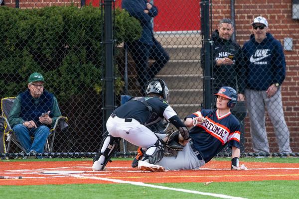 Spring 2020:  Varsity Baseball vs. Potomac School