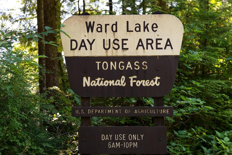 Ward Lake Recreation Area near Ketchikan