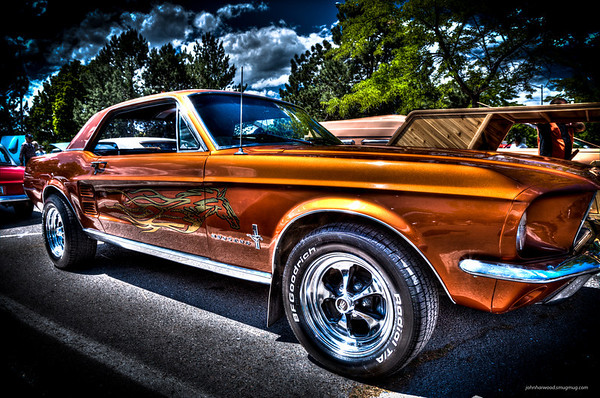 1967 Ford Mustang - Jerry Gates