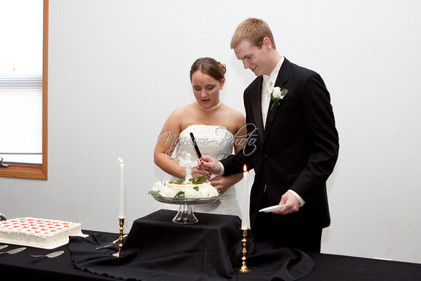 Cake Cutting - Andrea and Aaron