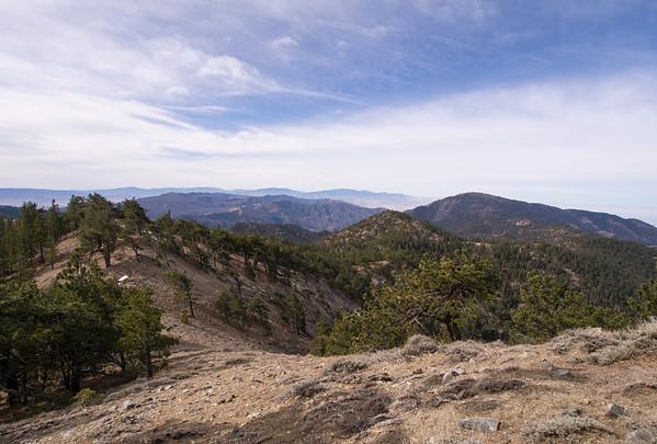 Tehachapi and Double Mountains  02.15.14