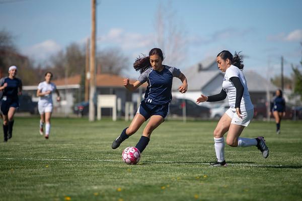 Lady Miner Soccer L vs. Ellicott  1-4 May 2019