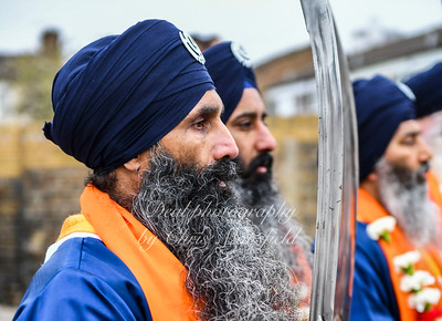 April 29th 2018 . Sikh Vaisakhi Procession