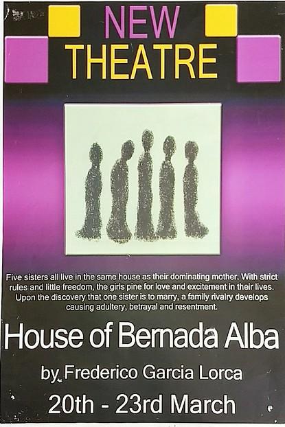 House of Bernada Alba poster