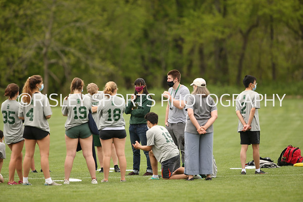 Ultimate Frisbee vs. NMH- May 8, 2021