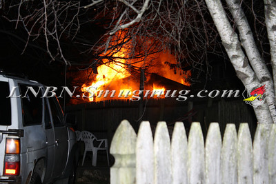 Brentwood F.D. Working House Fire 355 Whipple St. 11-22-11
