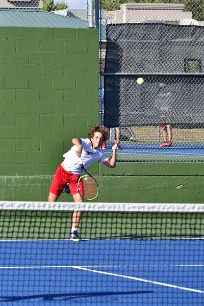FHS tennis vs Northside Health Careers