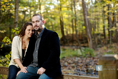Kristin + Tim's Engagement :: Southford Falls :: Southbury, CT