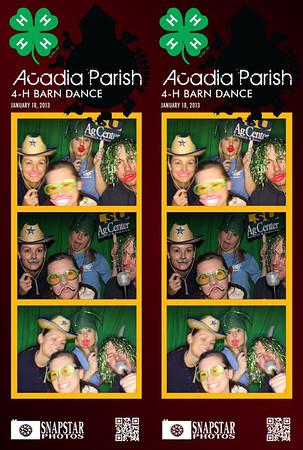 2013-01-18 Acadia Parish 4-H Barn Dance