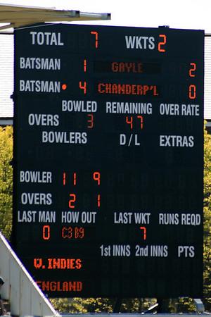 England v WIndies ODI Bristol May 2009