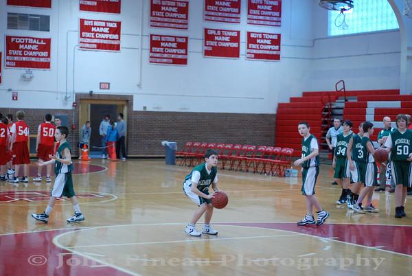 2010-01-30 Boys Basketball 7th Grade