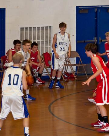 Joshua Orndorff JV Basketball 2012