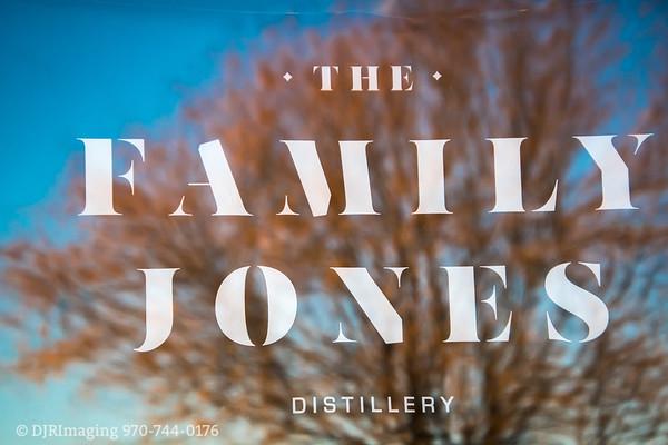 Loveland Chamber - The Family Jones Distillery Ribbon-Cutting -  01/28/2020