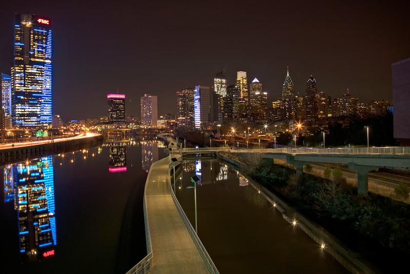 Night Sights Spring Garden Bridge