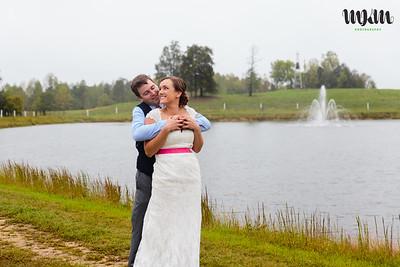 Aubrey & Drew's Colorful, Love-Filled Sunset Ridge Buffalo Farm Wedding, plus Hurricane