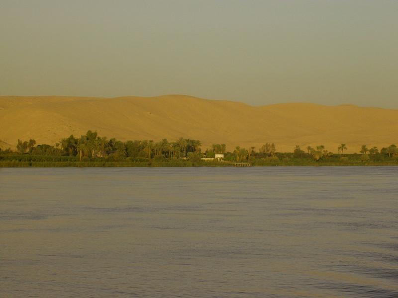 Nilen og den gyldne Sahara (Foto: Ståle)