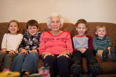 Great Grandma Xmas fun