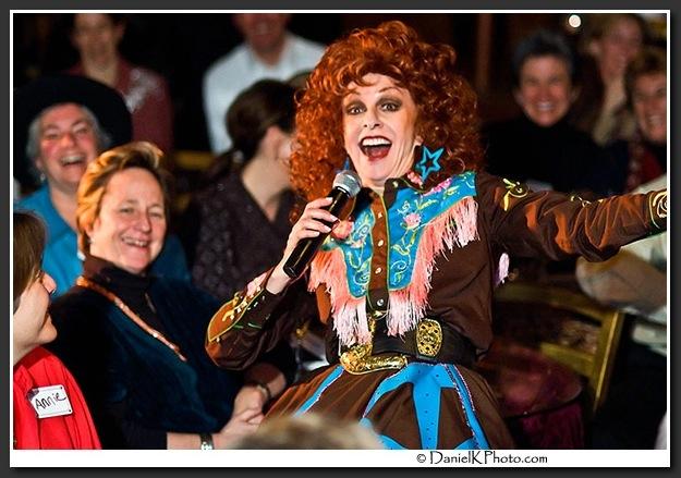 . Lannie Garrett\'s Patsy DeCline show runs every Saturday night at Lannie\'s Clocktower Cabaret.