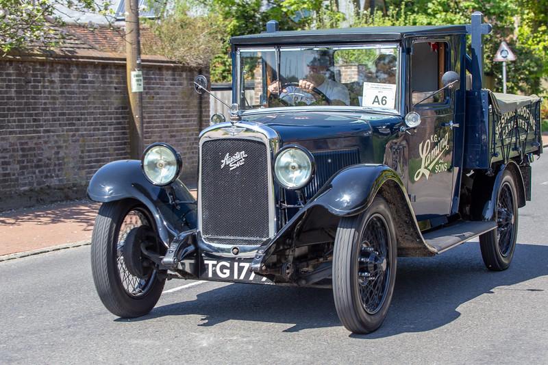 TG1779 1931 Austin 166