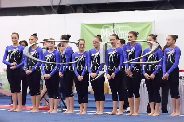 1-25-2015 Manhattan Classic Gymnastics Meet Level 8