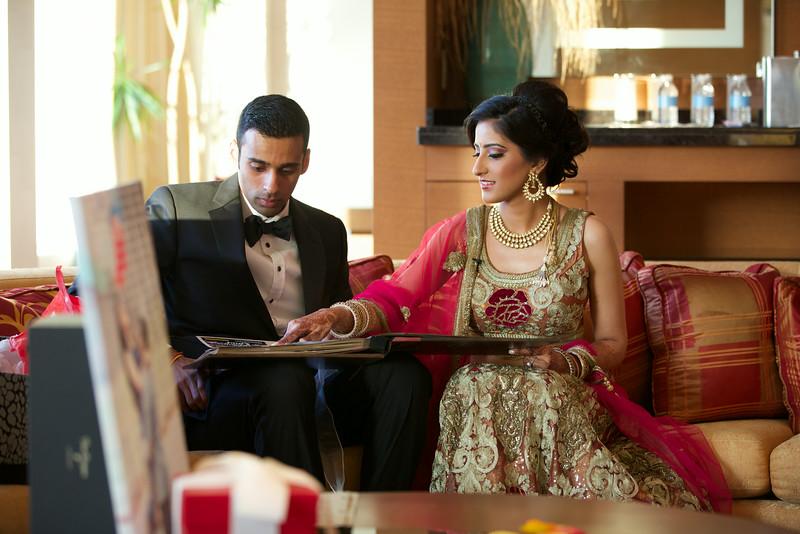 Le Cape Weddings - Indian Wedding - Day 4 - Megan and Karthik Exchanging Gifts 10.jpg