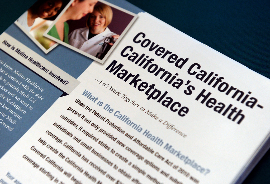. (John Valenzuela/Staff Photographer) Today kick off the first day of open enrollment for Covered CA, the marketplace for affordable, private health insurance, Molina Medical  hosted an informational event for its patients and the Inland Empire community.