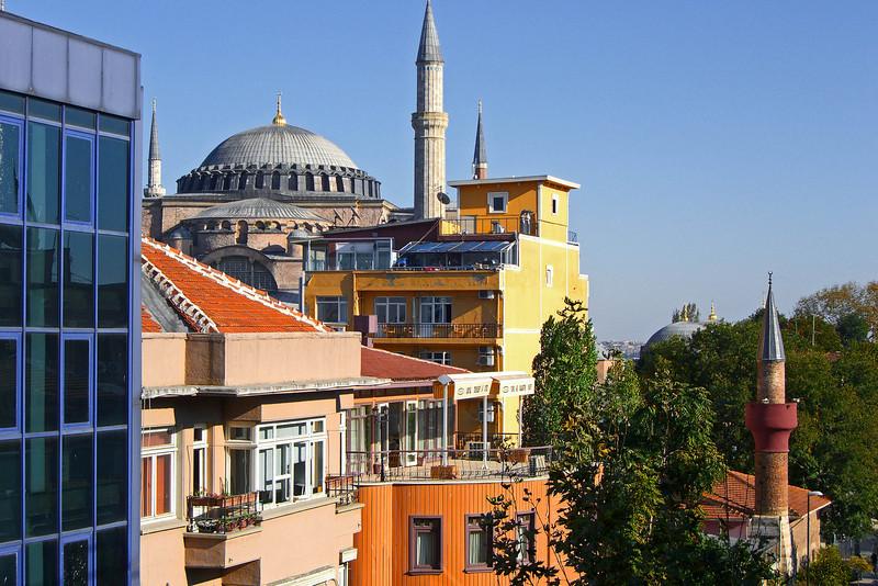 154. Hagia Sophia (Aya Sofya), from my hotel room